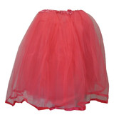 Neon Hot Pink Older Girls and Adult Ribbon Lined Tutu