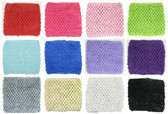 "5"" Large Crochet Headbands Assorted"