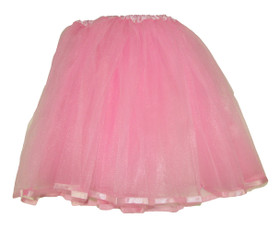 Light Pink Older Girls and Adult Ribbon Lined Tutu