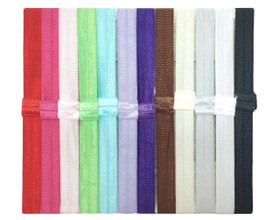 Fold Over Elastic Headbands