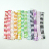 Chevron Fold Over Elastic Headbands