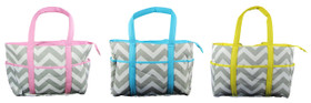 Chevron Diaper Bags