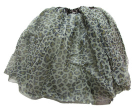 Leopard Animal Chiffon Dance Tutu