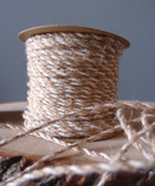 Ivory & Natural Jute Cord