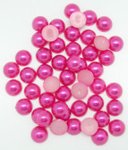 Hot Pink Pearlies 10 MM Embellishment