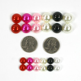 Assorted Pearlies 15 MM Embellishment