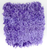 "5"" Lavender Chenille Crochet Headbands"