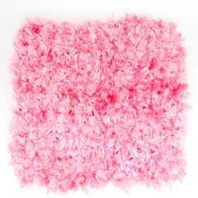 "5"" Light Pink Chenille Crochet Headbands"