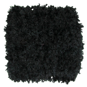"5"" Black Chenille Crochet Headbands"