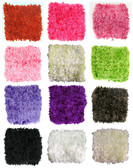 "5"" Assorted Chenille Crochet Headbands"