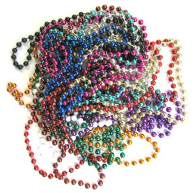 12 Assorted Mardi Gras Bead Necklaces