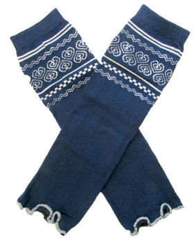 Wholesale Country Navy Blue Leg Warmers