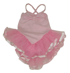 Pink Skirted Leotards