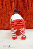 Minky Diaper Cover Red