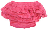 Hot Pink Minky Diaper Cover