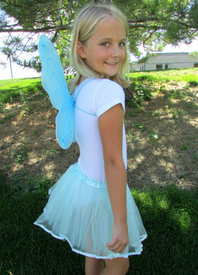 Frozen Aqua Ribbon Lined Dance Tutu