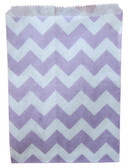 Lavender Chevron Treat Bags