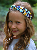 12 Mixed Color Chevron Turban Headbands 1