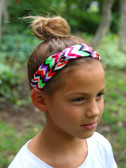 Mixed Color Chevron Turban Headbands 2