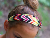 Mixed Color Chevron Turban Headbands 4