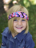 Mixed Color Chevron Turban Headbands 3