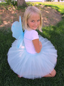 Aqua Butterfly Wings for girls