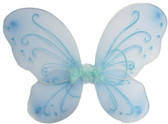 Light Blue Butterfly Wings