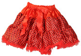 Red Black Dot Pettiskirt