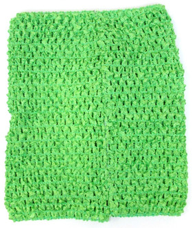 Lime Green Tutu Top Crochet Headband
