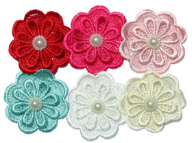 Assorted Flower Embellishments