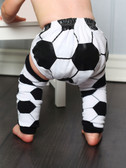 Soccer Boy Diaper Cover (leg warmers not included--gift set is available as well)