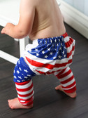 USA Flag Boy Diaper Cover (leg warmers not included--gift set is available as well)