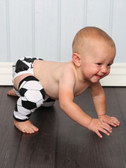 Soccer Boy Leg Warmers (diaper cover not included--gift set is available as well)