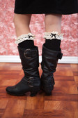 Black Boot Socks for Women