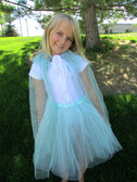 Frozen Aqua Princess Tutu & Cape Set