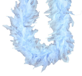Frozen Aqua Chandelle Feather Boa