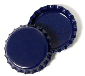 Navy Blue Bottle Cap