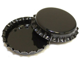 Black Bottle Cap