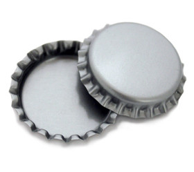 Silver Bottle Cap