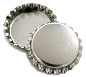 Chrome Bottle Cap