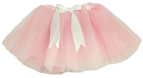 Light Pink & White 5 Layer Two-Toned Dance Tutu