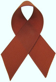 Rust Grosgrain Ribbon