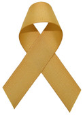 Antique Gold Grosgrain Ribbon