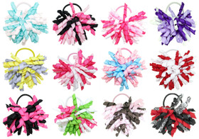 Assorted Korker Bow Pony Tail Holders