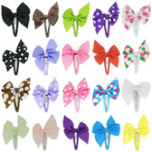 Snap Clip Bow Assortment