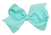 Frozen Aqua Girl Boutique Bows