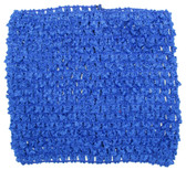 "Royal Blue 5"" Large Crochet Headbands"