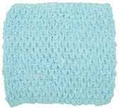 "Frozen Aqua 5"" Large Crochet Headbands"