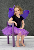 Sequin Lined Dance Tutu Purple