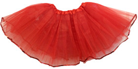 Red Sequin Lined Dance Tutu